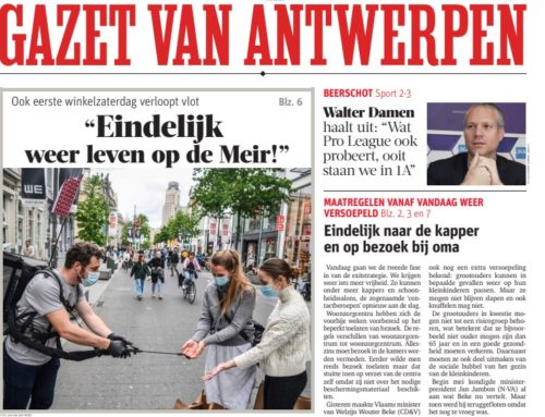 2East Benelux reopens Meir, famous shopping street in Antwerp